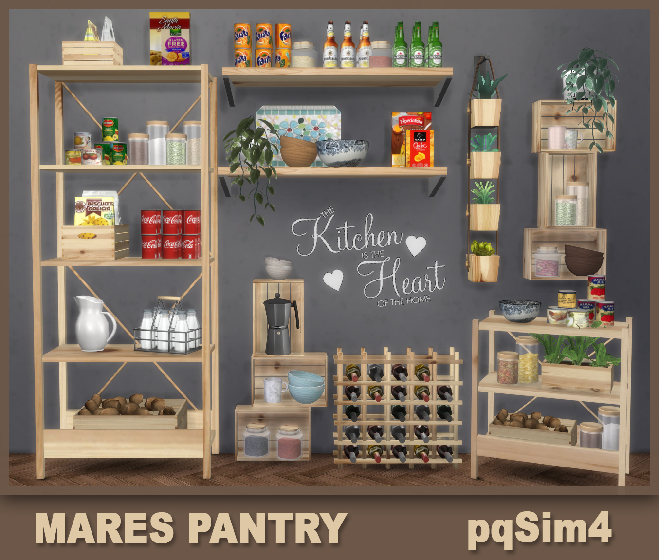 PQSims4: Mares Pantry Sims 4 Downloads