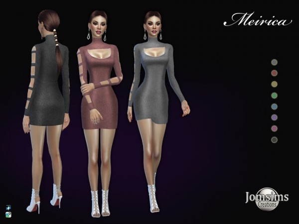 The Sims Resource: Meirica dress by jomsims