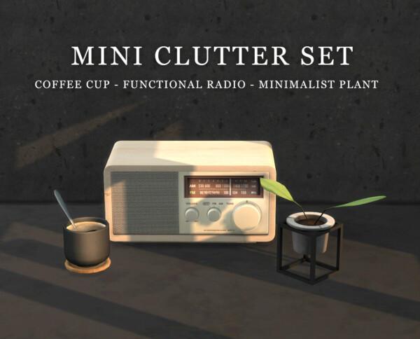 Leo 4 Sims: Mini Clutter Set