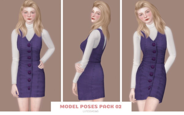 Lutessa: Model Poses 02