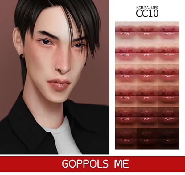 GOPPOLS Me: Natural Lips CC10