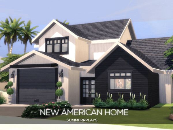 The Sims Resource: New American Home by Summerr Plays