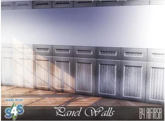 Aifirsa Sims: Panel Walls