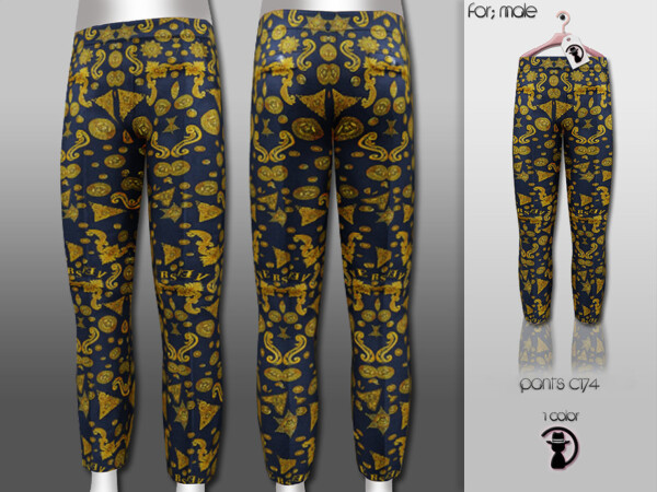 The Sims Resource: Pants C174 by turksimmer