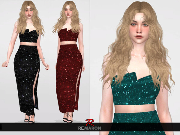 The Sims Resource: Party Top for Women by remaron