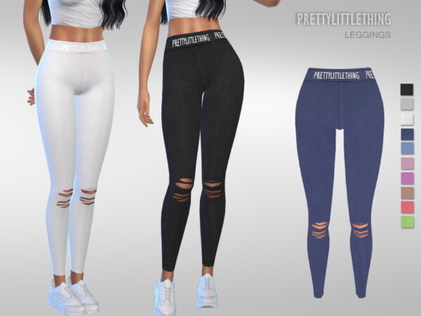 The Sims Resource: Pretty Little Thing Leggings by Puresim