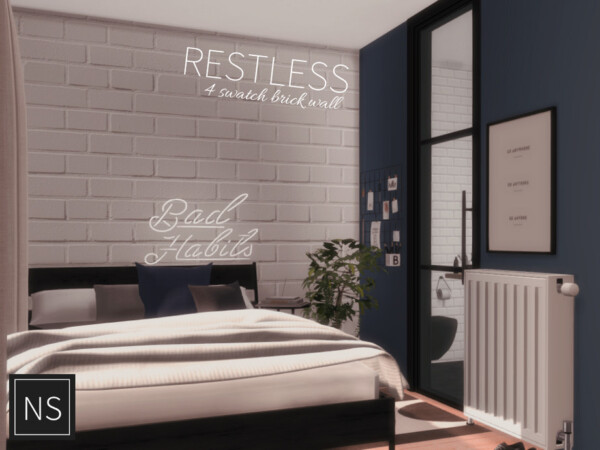 The Sims Resource: Restless Walls by Networksims