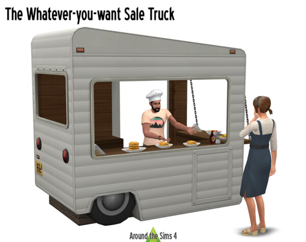 Around The Sims 4: The Whatever you want Sale Truck