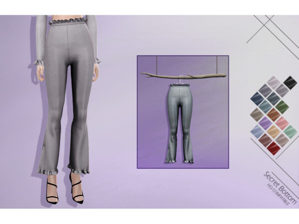 The Sims Resource: Secret Bottom by Lisaminicatsims