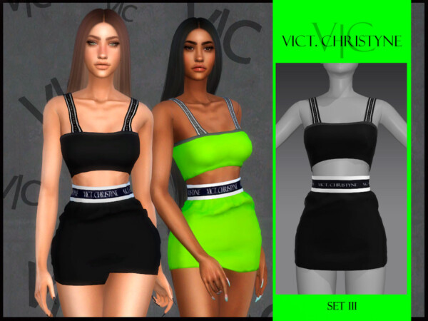 The Sims Resource: Set III   Vict, Christyne by Viy Sims