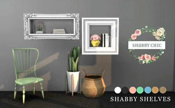 Leo 4 Sims: Shabby Shelves