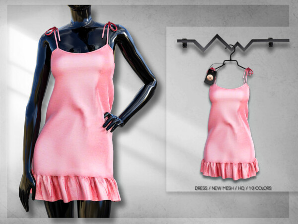 The Sims Resource: Shift Dress by busra tr