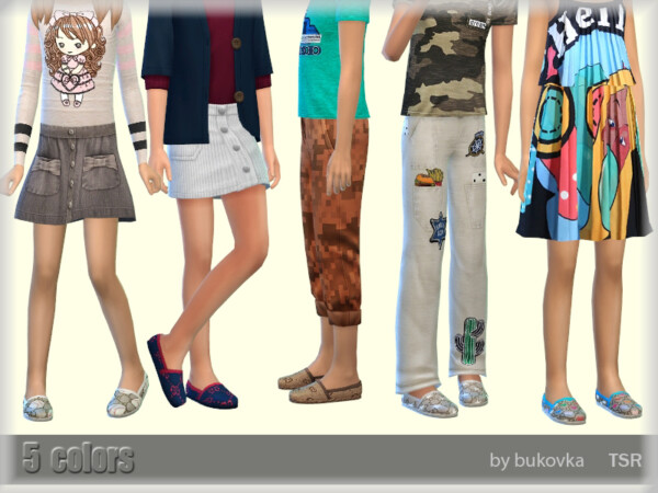 The Sims Resource: Shoes Child by bukovka