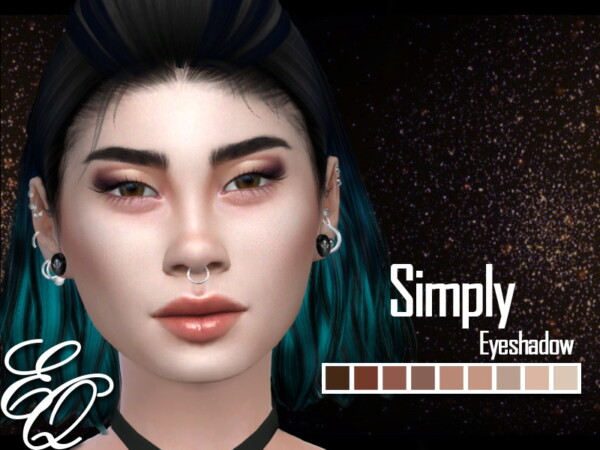The Sims Resource: Simply Eyeshadow by EvilQuinzel