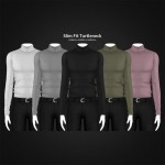 Slim-Fit-Turtleneck