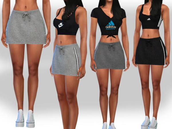 The Sims Resource: Sport Skirts by Saliwa