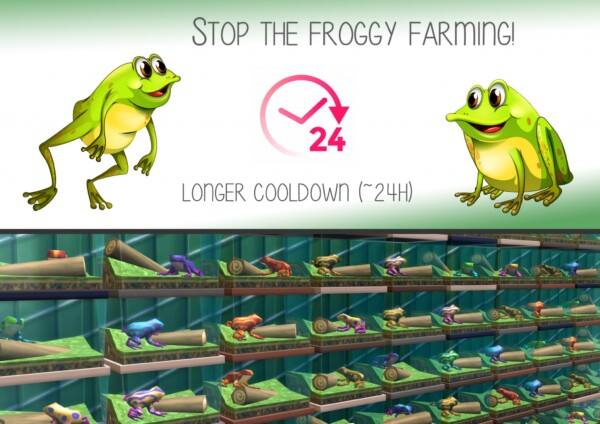 Mod The Sims: Stop the froggy farming by Caigel