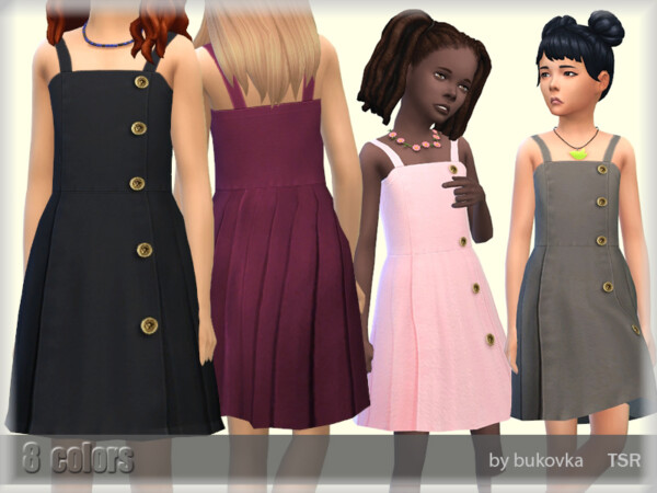 The Sims Resource: Sundress Child by bukovka