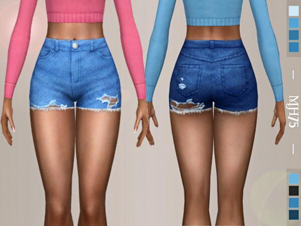 The Sims Resource: Tatijana Shorts by Margeh 75