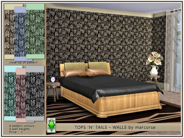 The Sims Resource: Tops n Tails   Walls by marcorse