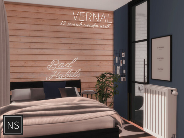 The Sims Resource: Vernal Walls by networksims