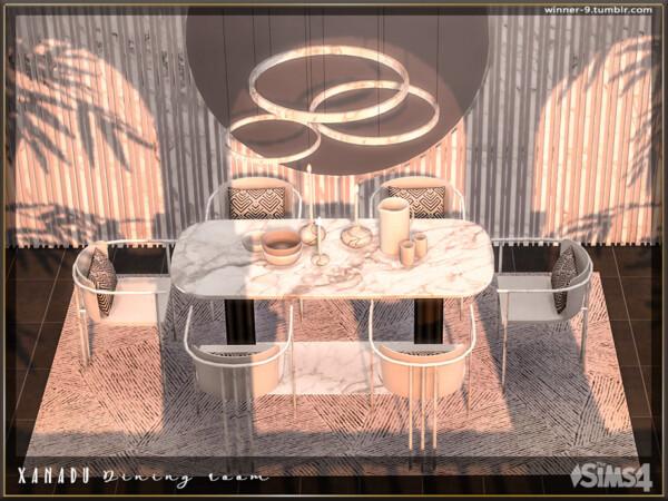 The Sims Resource: Xanadu Dining room by Winner9