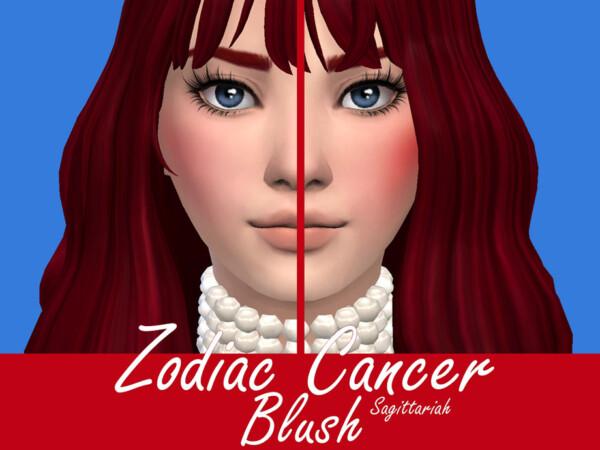 The Sims Resource: Zodiac Cancer Blush by Sagittariah