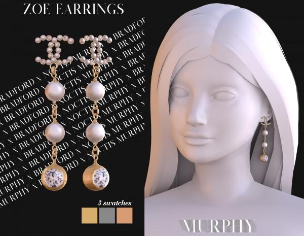 Murphy: Zoe Earrings