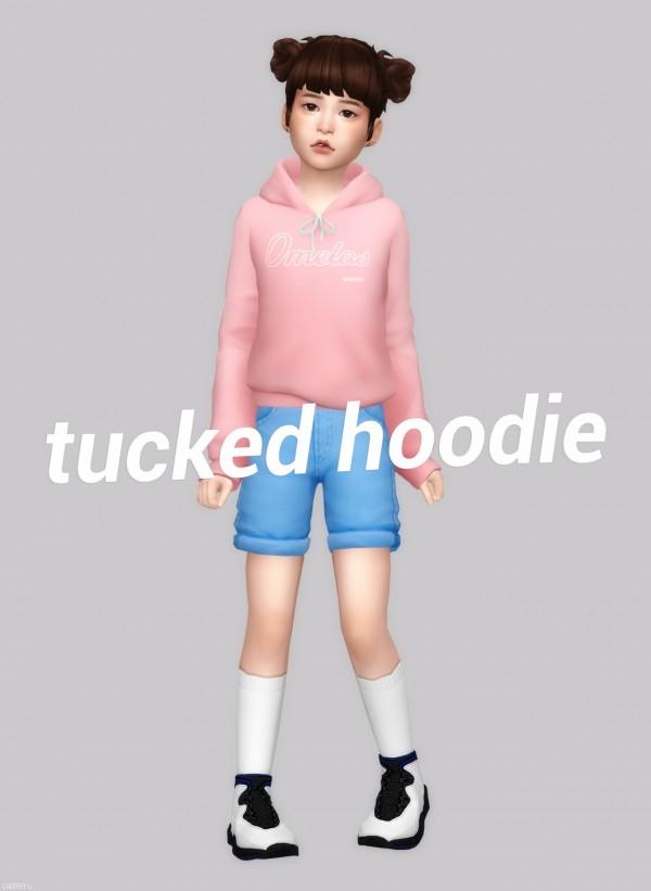 Casteru: Tucked hoodie