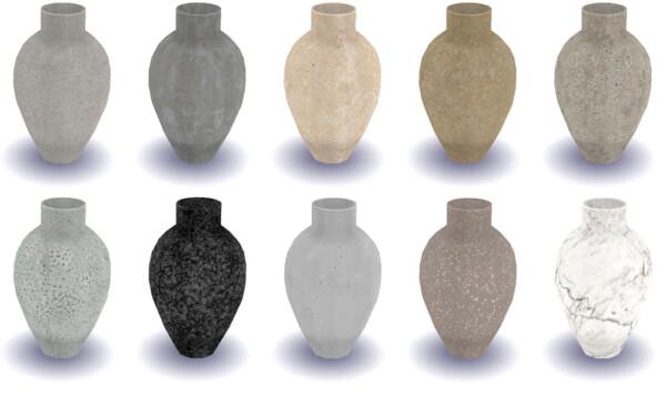 Riekus13: Dine Out Floor Vase Recolored