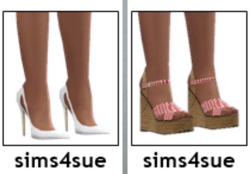 Shoes Dump from Sims 4 Sue