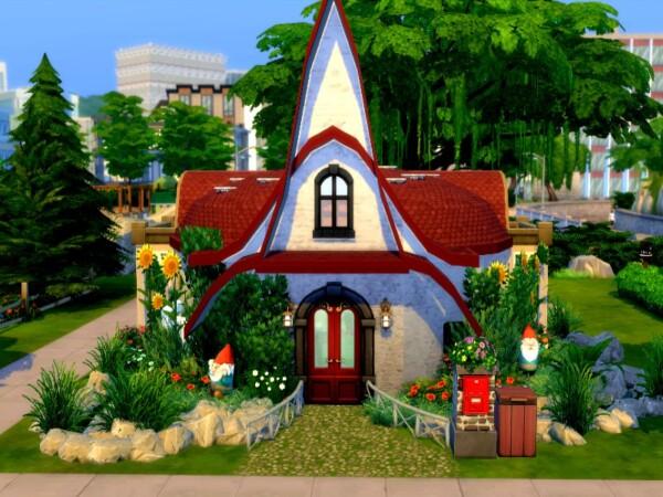Mashroom house by GenkaiHaretsu from TSR