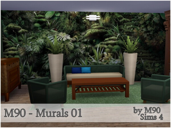The Sims Resource: Murals 01 by Mircia90