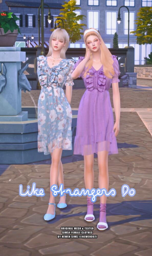 Newen: Like Strangers Do Dress