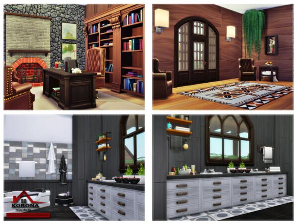 The Sims Resource: Korona House No CC by marychabb
