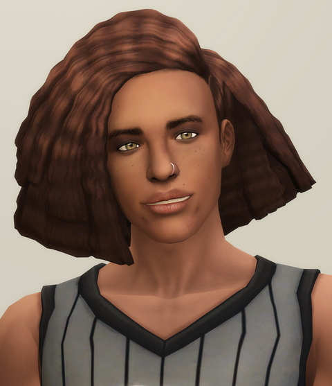 Crimped M V1 Hairstyle Shorter Retextured from Rusty Nail