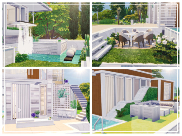 The Sims Resource: Smooth Modern House by Mini Simmer
