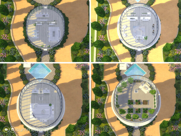 The Sims Resource: Glass house by Summerr Plays