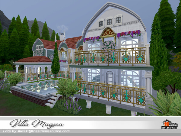 The Sims Resource: Villa Magica by autaki