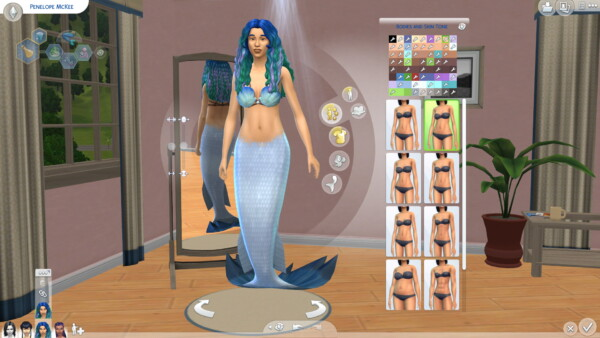 Mod The Sims: 41 Maxis Skins with Occult Tags by DizZyDiceS