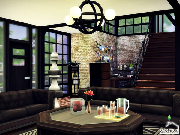 The Sims Resource: Dark Industrialism House by nobody1392