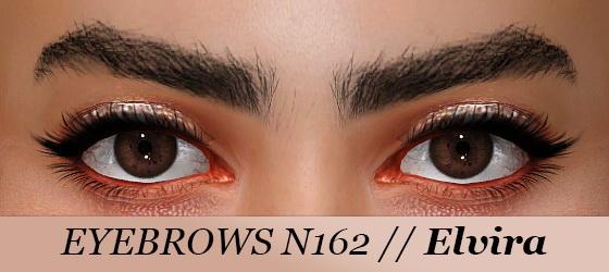 Praline Sims: Uni Wow Eyebrow Kit