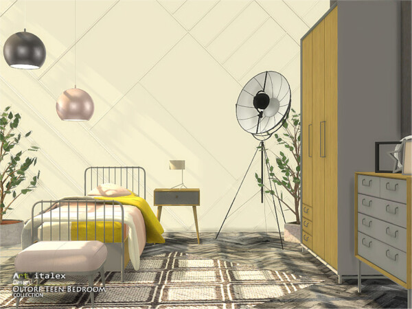 The Sims Resource: Oltorf Teen Bedroom by ArtVitalex