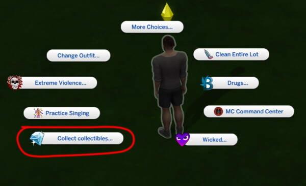Find all collectibles mod by Sigma1202 from Mod The Sims