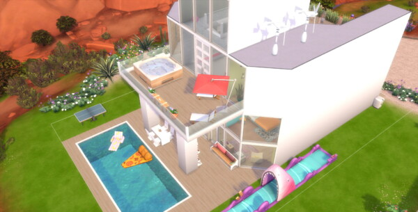 Luniversims: Totally Villa by TheSimologist