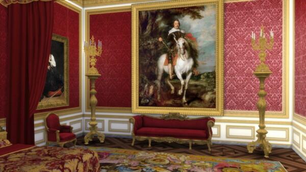 Mod The Sims: Equestrian Portrait of Don Francisco de Moncada by TheJim07