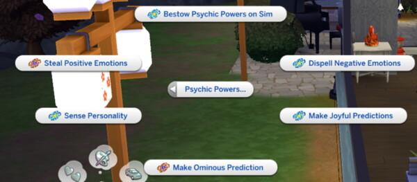 Mod The Sims: Psychic Sims Mods by  Lumpinou
