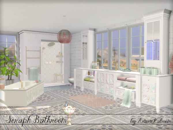 The Sims Resource: Seraph Bathroom by  ArwenKaboom