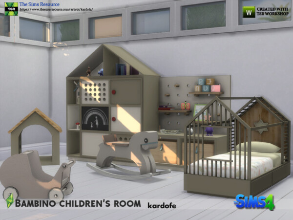 The Sims Resource: Bambino childrens room by kardofe