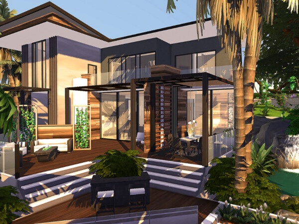 The Sims Resource: Ultimate Luxury Villa No CC by Sarina Sims